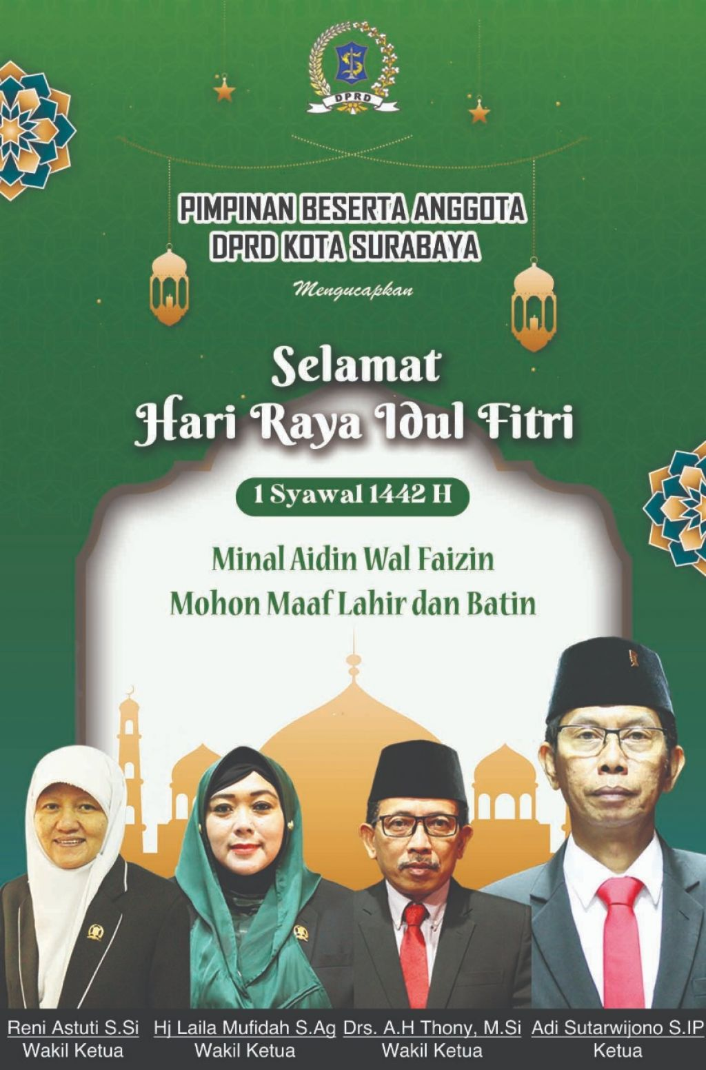 idul fitri dprd sby