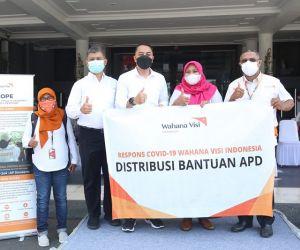 Berbagai Stakeholder Gotong Royong Berikan Bantuan ke Pemkot Surabaya