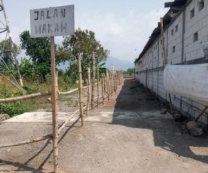 Penutupan Gudang Peti Jenazah di Dusun Bolowono, Ditulis Dalam Blog dan Diviralkan