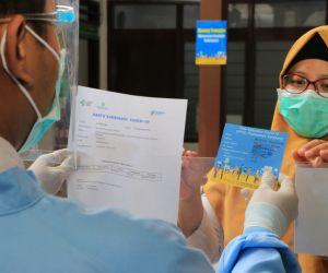 Pemkot Surabaya Gandeng PT Wings Surya, Gelar Vaksinasi Serentak di Tiga Lokasi