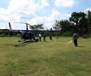 Masalah Navigasi, Helikopter BNPB Mendarat Darurat di Grobogan