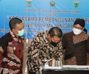 Pemkab Malang Sepakat Bangun Daerah Bersama Kota Malang dan Kota Batu