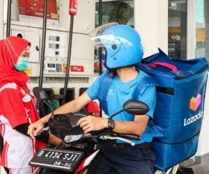 Bantu Mitra Kurir, Lazada Logistics Gandeng Shell Indonesia