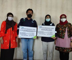 BPJAMSOSTEK Gresik Serahkan Santunan Pekerja Meninggal Akibat Ledakan