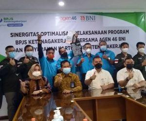 Agen46 BNI Surabaya Support Optimalisasi Kepesertaan BPJAMSOSTEK