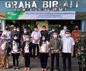 BPJAMSOSTEK Jatim Suport Kesehatan Pekerja Migran Indonesia