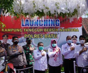 Desa Pendem Disematkan sebagai Kampung Tangguh Bersih Narkoba