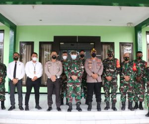 Pererat Silahturahmi, Kodim 0816/Sidoarjo Terima Kunjungan Kapolresta Sidoarjo