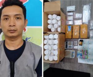Kurir Narkotika Jaringan Lapas Dibekuk Polisi di Mojokerto