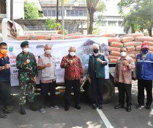 Pemkab Malang Terima Bantuan 1.000 Sak Semen dari Pemkot Batu