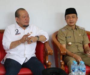 Optimalkan Program Vaksinasi, Wakil Bupati Blitar Minta Tambahan Vaksin ke Ketua DPD RI
