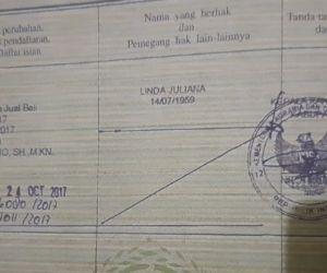 Palsu Dokumen Jual-Beli, Notaris FK dan Nurul KHasanah Dilaporkan Polisi