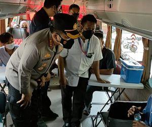 Gandeng PWI dan Forwas, Polresta Sidoarjo Masifkan Vaksinasi bagi Masyarakat