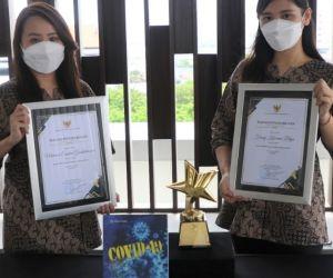 Dosen dan Mahasiswa Ubaya dapat Penghargaan dari Perpurnas RI