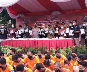 Dalam Kurun Waktu 12 Hari, Polrestabes Surabaya Ringkus 120 Tersangka Kasus Narkoba