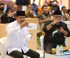 Apresiasi UMKM FESyar Jawa 2021 dengan Seruput Kopi