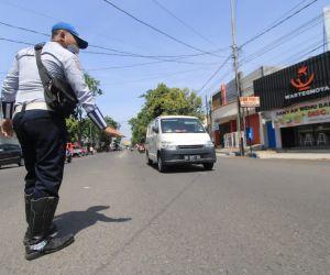 One Way Jend Sudirman Ponorogo Turunkan Level Kemacetan ke C
