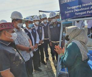 Bank Mandiri Gandeng Indra Karya Bangun Sarana Desalinasi Air Laut di Labuan Bajo Senilai Rp2,1 Miliar
