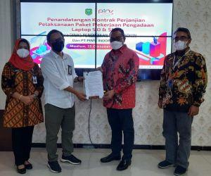 Pemkot Madiun Pastikan, Laptop Gratis Jilid II untuk Siswa Segera Terealisasi