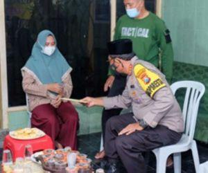 Kapolres Berbagai Wilayah di Jawa Timur, Peduli Keluarga Korban KRI Nanggala 402