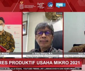 BPUM, Upaya Genjot Pelaku UKM Indonesia di Masa Pandemi