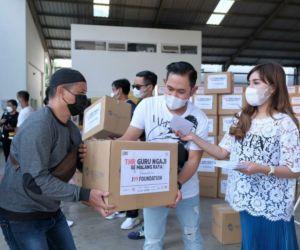 500 Orang Guru Ngaji Se-kota Malang Dapat THR dari Juragan99