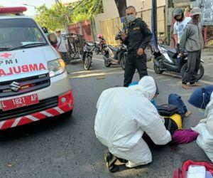 Diduga Korban jambret, Eny Setyorini Tergeletak di Jalan Raya Diponegoro