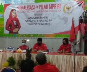 Sosialisasi 4 Pilar, Puti Ingatkan Ideologi Bangsa harus Dijaga