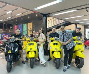 Juragan 99 Kasih Surprise Vespa Buat Keanu, Dara Arafah, dan Fadil Jaidi