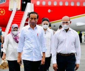 Jokowi Resmikan Sejumlah Fasilitas infrastruktur di Labuan Bajo Manggarai Barat NTT