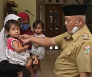 Kunjungi Penderita Stunting di Gondanglegi, Bupati Malang Janji Turunkan Drastis