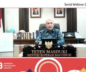 MenKop UKM Dukung Upaya KPK melalui Jaga.id untuk Kawal BPUM