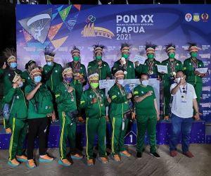 Atlet Kota Batu Juara Umum Cabor Paralayang di PON Papua