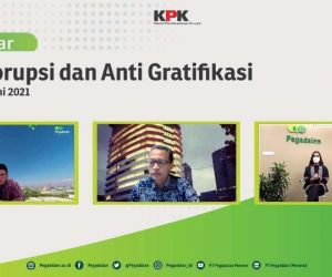 Gandeng KPK, Pegadaian Kampanye Anti Korupsi dan Gratifikasi Lewat Webinar