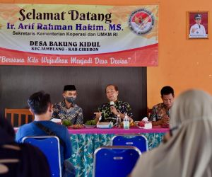 Kemenkop UKM Siap Dampingi UMKM Desa Bakung Kidul Cirebon Go Internasional