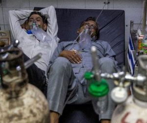 India Kewalahan Hadapi Ledakan Pasien Covid 19
