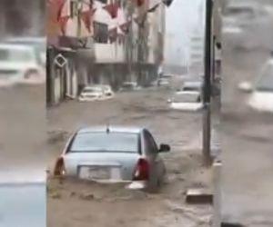 Kota Suci Mekkah Dilanda Banjir Parah