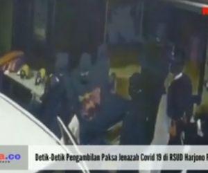 Detik-Detik Pengambilan Paksa Jenazah Covid 19 di RSUD Harjono Ponorogo