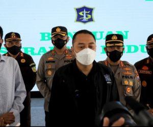 Masih di Zona Orange, Pemkot Surabaya Terus Bekerja Keras