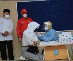 Walikota Madiun Apresiasi Langkah BIN Gelar Vaksinasi Pelajar dan Door to Door