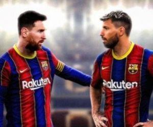 Aguero Menyesal Batal Duet dengan Messi
